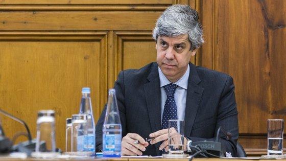 Mário Centeno revelou que estão cerca de 500 funcionários públicos na bolsa de mobilidade