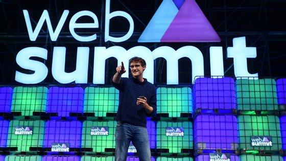 A Web Summit realiza-se em Lisboa de 7 a 10 de novembro
