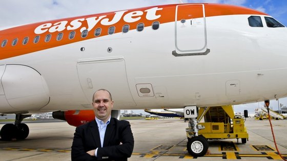 José Lopes, diretor comercial da easyJet em Portugal