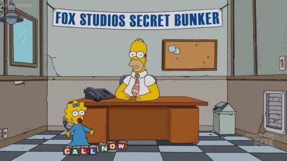 Homer Simpson respondeu em direto a perguntas feitas pelos telespectadores