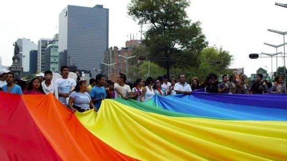 Marcha do Orgulho Gay na Cidade do México