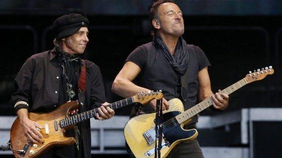 Bruce Springsteen, que está novamente na estrada com a E Street Band