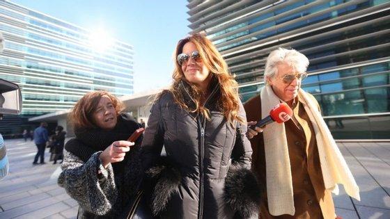A apresentadora Bárbara Guimarães e o advogado Pedro Reis