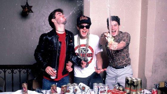 Os Beastie Boys, já sem John Berry