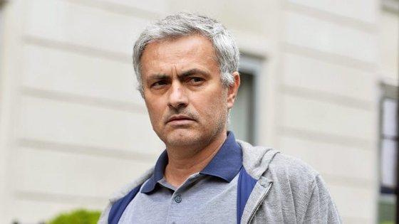 José Mourinho assinou há dias pelo Manchester United