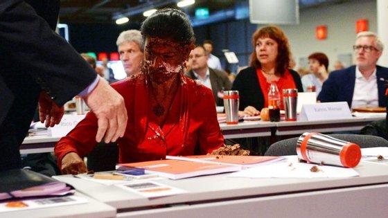"""A deputada alemã já defendeu que """"aqueles que abusam do direito de hospitalidade, devem perder o direito de hospitalidade"""""""