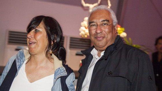 O primeiro-ministro António Costa estava acompanhado da mulher e filhos na área VIP do Rock in Rio