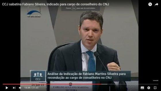 Fabiano Silveira fez parte do Conselho Nacional da Justiça antes de ser nomeado ministro da Transparência