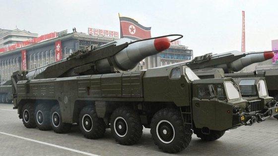 As tensões na península coreana aumentaram desde o quarto teste nuclear da Coreia do Norte efetuado em janeiro