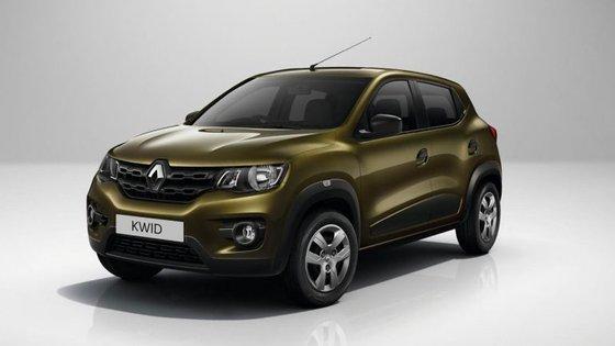 Só o Renault Kwid conquistou uma estrela, por incluir o opcional airbag