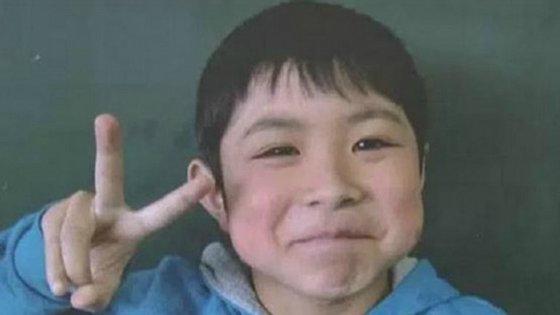 Yamato Tanooka, tem apenas sete anos e esteve desaparecido durante seis noites