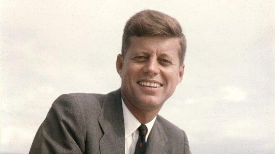 John F. Kennedy foi presidente dos Estados Unidos da América entre 1961 e 1963