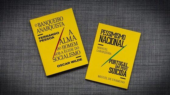 Os dois primeiros volumes chegam às livrarias esta quarta-feira