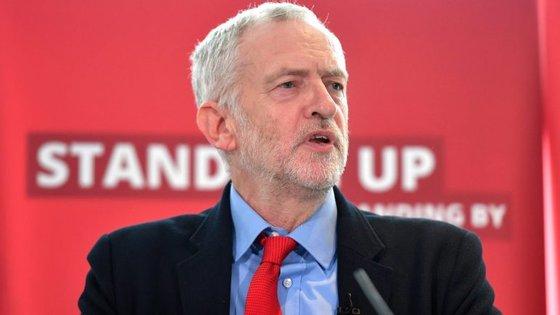 Jeremy Corbyn fez a polémica comparação na apresentação de um relatório sobre anti-semistismo no seio do Partido Trabalhista