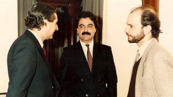 Nuno Rocha é o primeiro à esquerda