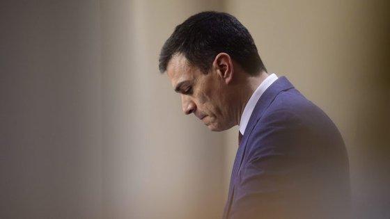 """Pedro Sánchez afimou que """"a democracia tem os seus tempos, e agora é o de Rajoy"""""""
