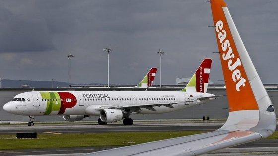 Houve um atraso nas comunicações do avião da TAP, muito comum em alturas de grande tráfego aéreo