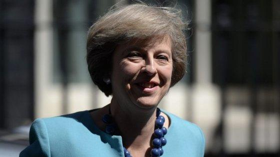 Theresa May tornou-se esta semana a segunda primeira-ministra do Reino Unido