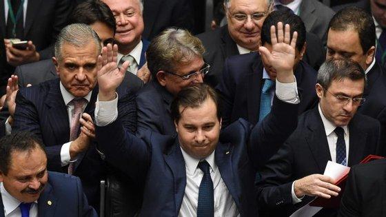 Rodrigo Maia está no seu quinto mandato consecutivo na Câmara dos Deputados