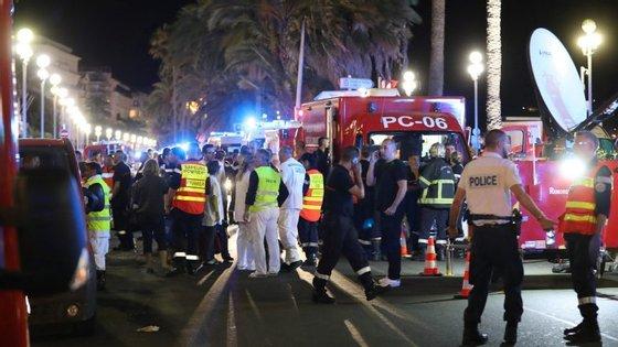 O ataque aconteceu na avenida Promenade des Anglais, em Nice