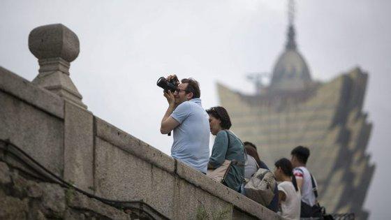 Macau recebeu 7,45 milhões de visitantes entre janeiro e março deste ano
