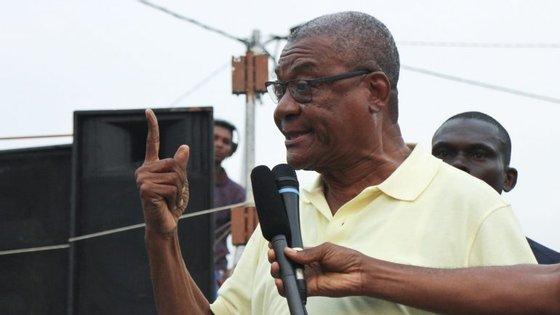 O candidato conseguiu 37,7% dos votos na diáspora são tomense em Portugal