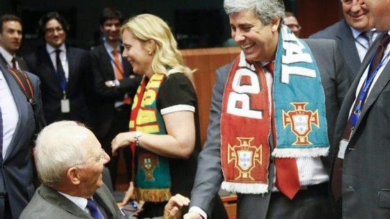 Mário Centeno esteve na semana passada no Ecofin, dois dias depois de Portugal ter sido campeão europeu de futebol