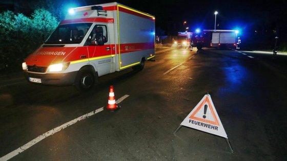 O ataque aconteceu às 21h15 locais, menos uma hora em Portugal.