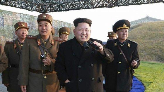 """As Forças Armadas da Coreia do Sul salientaram que os mísseis lançados foram os suficientes para """"atingir toda a Coreia do Sul"""""""