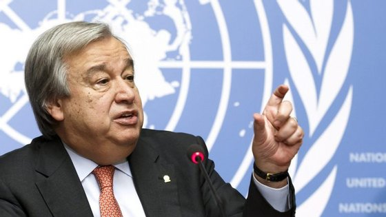António Guterres é um dos candidatos a secretário-geral da Organização das Nações Unidas
