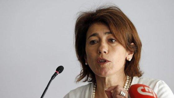 """Constança Urbano de Sousa afirmou que houve um """"ligeiro aumento"""", de 1,3% na totalidade da criminalidade participada"""