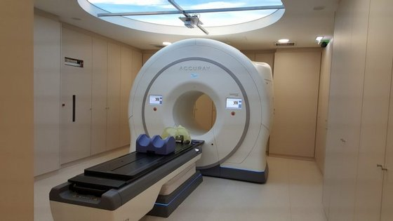 Unidade do IPO de Coimbra onde está instalado o sistema Tomotherapy HD.