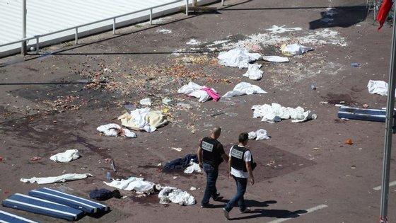 Mohamed Lahouaiej Bouhlel matou 84 pessoas num ataque com um camião na Promenade des Anglais, em Nice