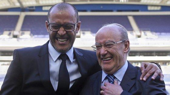 Nuno Espírito Santo com o presidente do FC Porto, Nuno Pinto da Costa