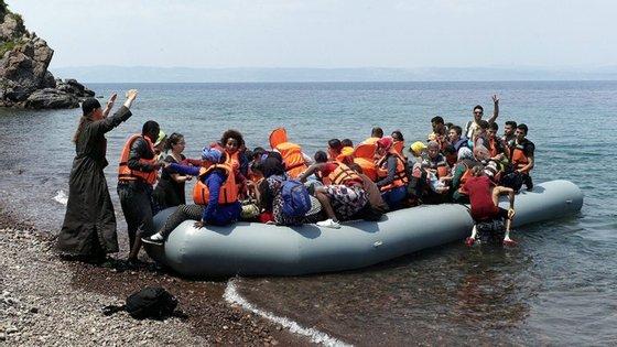 A crise dos refugiados na Europa começou há quatro anos