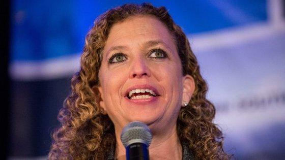 Debbie Wasserman Schultz, a presidente do Comité Nacional Democrático