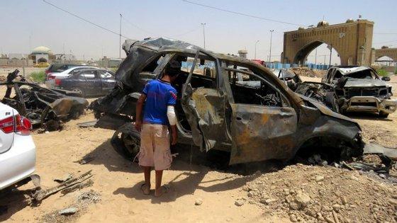 Bagdade vive em estado de alerta depois do atentado terrorista reivindicado também pelo Estado Islâmico no passado dia 3 de julho
