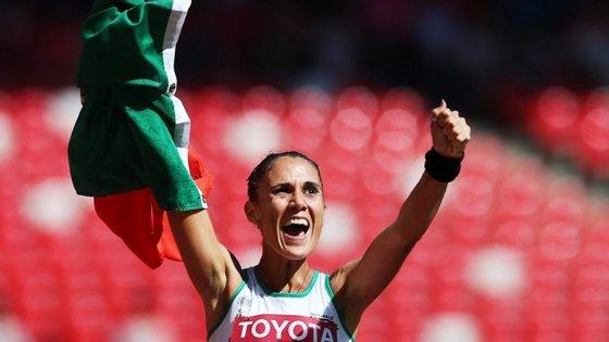 """A atleta do Clube Oriental de Pechão pensa que o afastamento do atletismo da Rússia dos Jogos do Rio """"pode favorecer"""" todas as atletas na prova de 20 quilómetros marcha"""