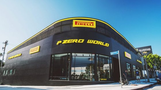 Los Angeles foi escolhida como ponto de lançamento do novo conceito de loja de pneus da Pirelli