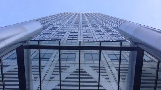 Imagem do edifício 1 Canada Square, Canary Wharf, onde ficam os escritórios da Moody's em Londres.