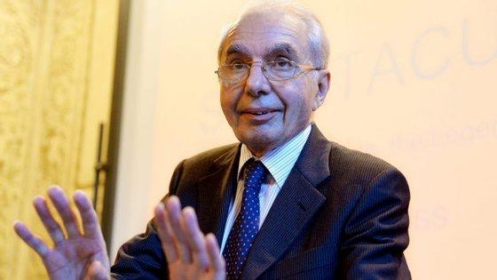 Giuliano Amato foi primeiro-ministro de Itália durante dois anos e ajudou a criar o Tratado de Lisboa