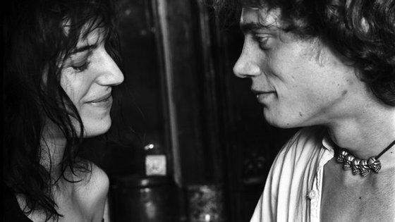 Patti Smith e Robert Mapplethorpe em 1969