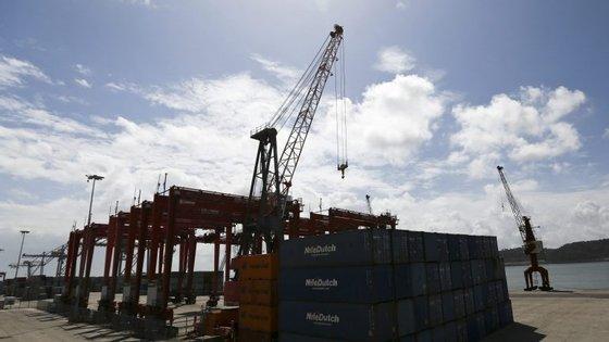 As exportações diminuíram 6,5% e as importações foram menos 21,1%