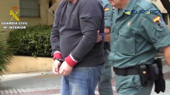 As pistas fornecidas pela plataforma online foram determinantes para as oito detenções