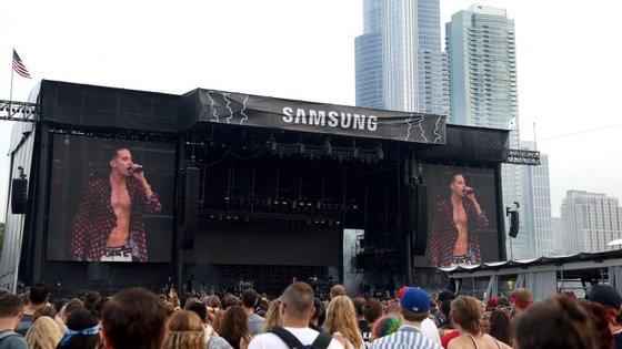 O Lollapalooza acontece em Chicago