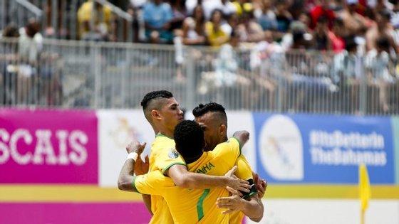 Datinha, Bruno Xavier, Lucão e Filipe marcaram os golos da seleção brasileira