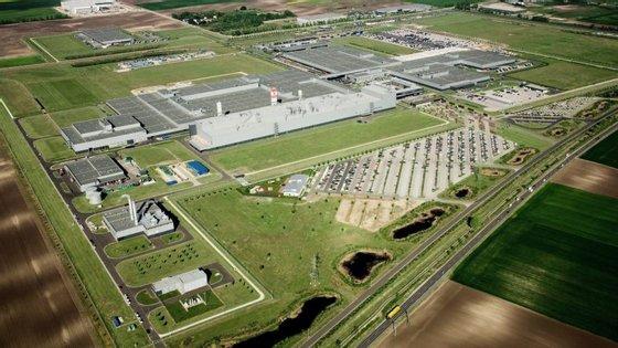A nova instalação fabril recebeu apoios estatais de 41 milhões de euros