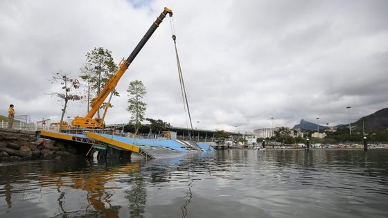 O Comité Olímpico Internacional deve decidir esta terça-feira se a rampa será consertada ou se será construída uma nova estrutura