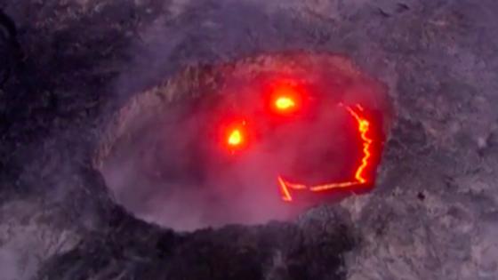 O Kilauea é um dos vulcões mais ativos do mundo, estando em permanente atividade, mas nunca tinha sido registada uma erupção assim