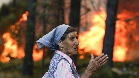 """""""Em apenas dois dias arderam 50 mil hectares"""", lamenta o investigador Paulo Fernandes"""